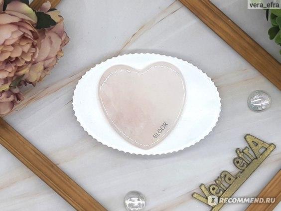 Скребок Гуаша Bloor Классическое сердце фото
