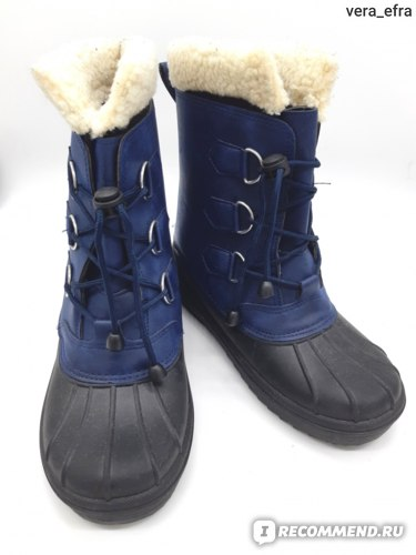 Ботинки Kuling Napoli Boots Classic Navy фото