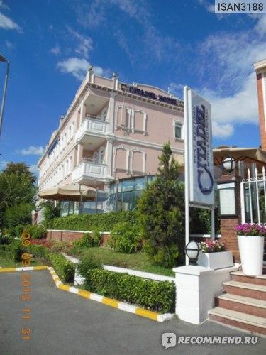 Отель на первой линии Босфора.