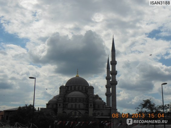Голубая мечеть.