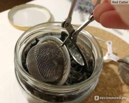 Ситечко для заваривания чая AliExpress 2017 Tea Infuser Stainless Steel Tea Pot Infuser Sphere Mesh Tea Strainer Handle Tea Ball фото