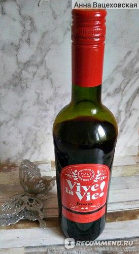 Вино безалкогольное Weinkellerei Hechtsheim GmbH Vive la Vie Rouge красное