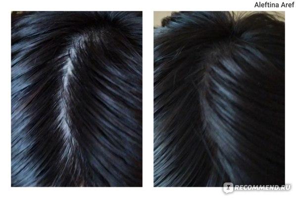 Волосы до/после
