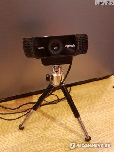 Веб-камера Logitech HD Pro C920 фото