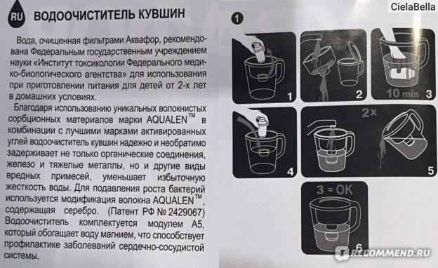 Фильтр-кувшин для воды АКВАФОР Прованс отзыв