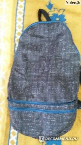Так выглядит рюкзак.