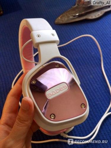 Игровые наушники с микрофоном SADES SA-722 Dpower (Angel Edition) фото