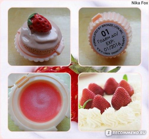 """Блеск для губ FFLEUR """"Cupcake Shoppe"""" Пироженое фото"""