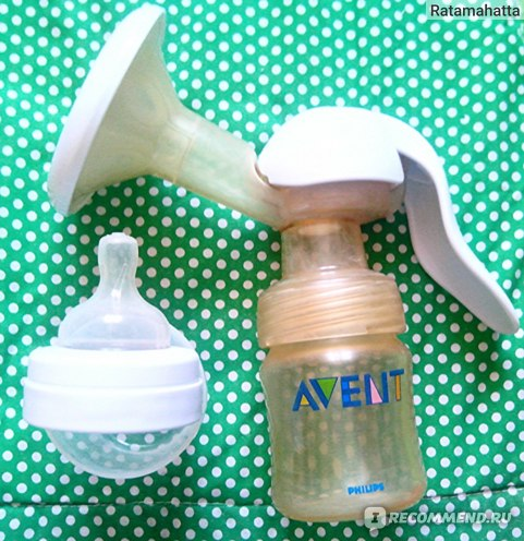 Молокоотсос Avent Ручной серии Comfort (natural) фото