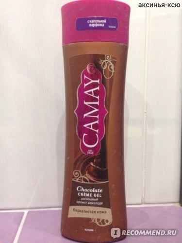 Гель для душа Camay Шоколад  фото