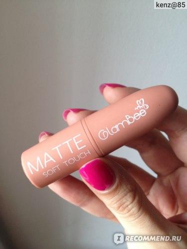 Губная помада GlamBee матовая Matte Soft Touch фото