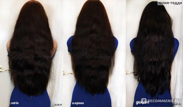 объема на 3-тей меньше от частого использования масок для волос