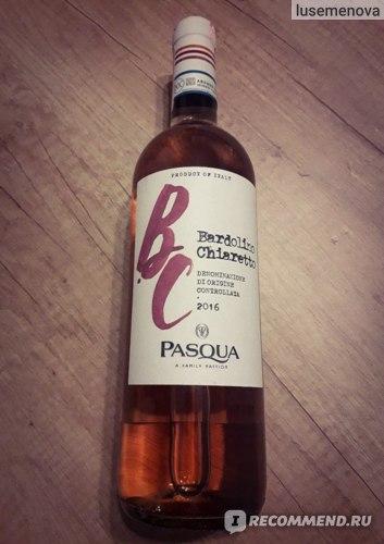 Вино сухое розовое Bardolino Chiaretto DOC Pasqua  фото