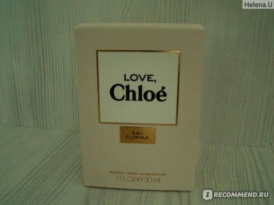 Chloé Love, Chloe Eau Florale фото