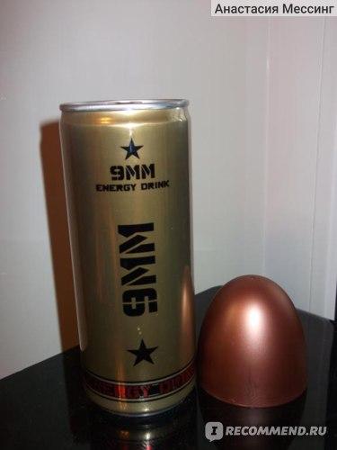 Энергетический напиток Starzinger Gmbh.  Rexam Gmbh 9MM Energy Drink фото