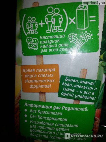 Сок Лебедянский Фруктовый сад фото