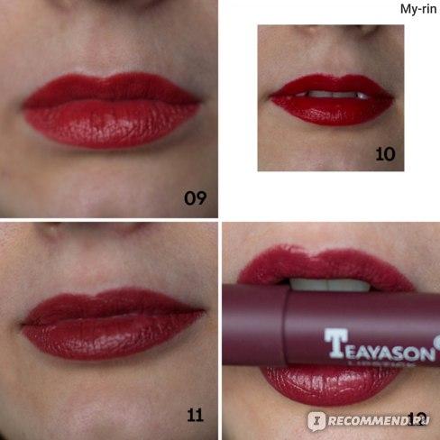 Teayason Lipstick 12 colors