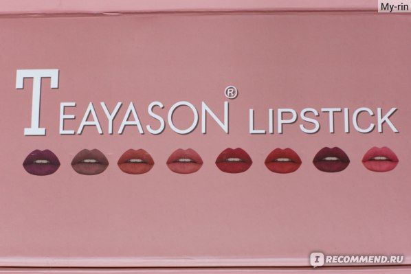 Матовая помада для губ Aliexpress TEAYASON Hot Selling Matte Lipstick Pigmented Maquillaje Moist Lip Tint Easy to Wear Lipsticks Pen Makeup Sexy Lip Cosmetics фото