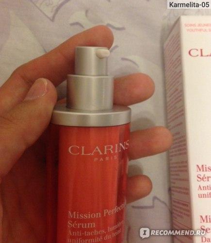 Сыворотка для лица Clarins Mission Perfection Serum фото