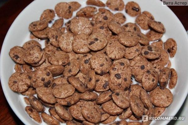 "Готовые завтраки Nestle Cookie Crisp ""Печенюшки"" фото"