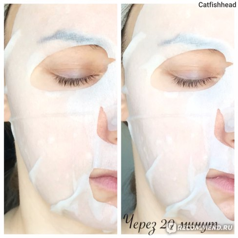Тканевая маска для лица Luke Green tea Essence Mask с зеленым чаем фото