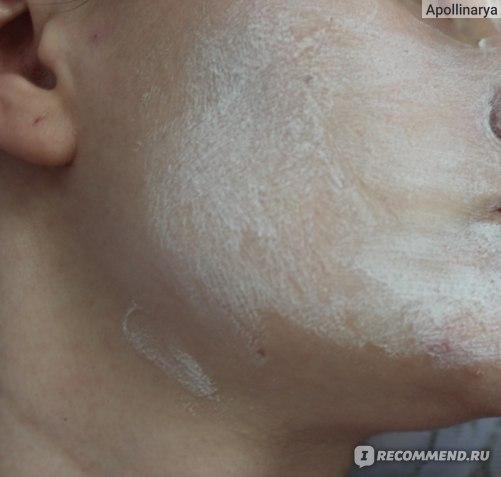 Маска для лица Faberlic Паста-эксфолиант Air Stream Кислородный баланс фото