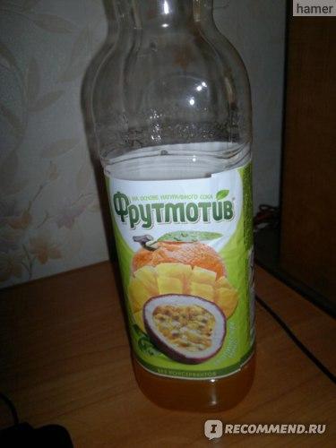 Безалкогольный напиток Фрутмотив Тропический микс фото