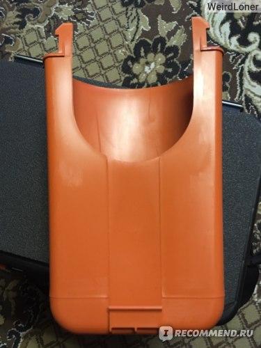 Ящик двухсекционный Тонар Helios FishBox 19л оранжевый фото