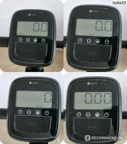 Консоль измерения параметров тренировки