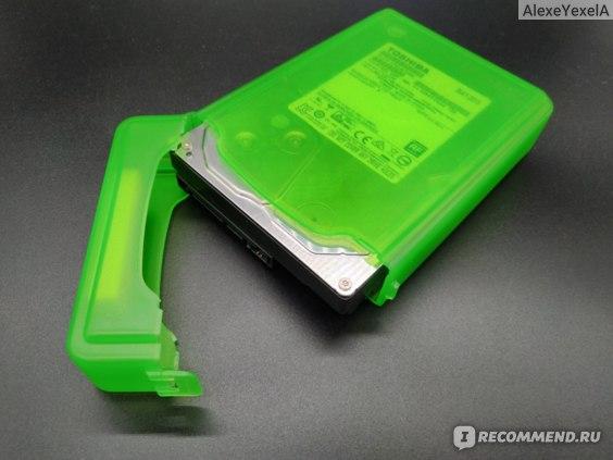 Чехол и HDD вид 2