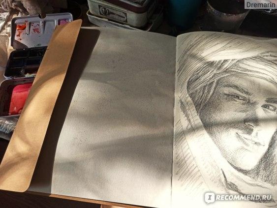 Альбом-скетчбук Brauberg Art Classic кремовая бумага 120 листов фото