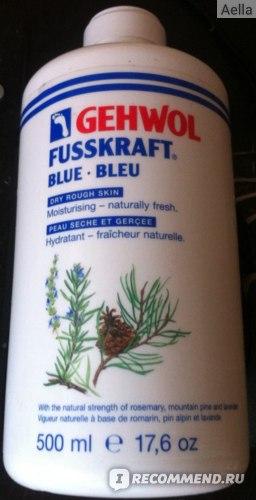 Бальзам для ног Gehwol  Fusskraft Blau  фото