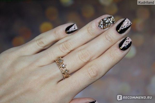 Блестки для дизайна ногтей MASURA Глиттерные миксы фото