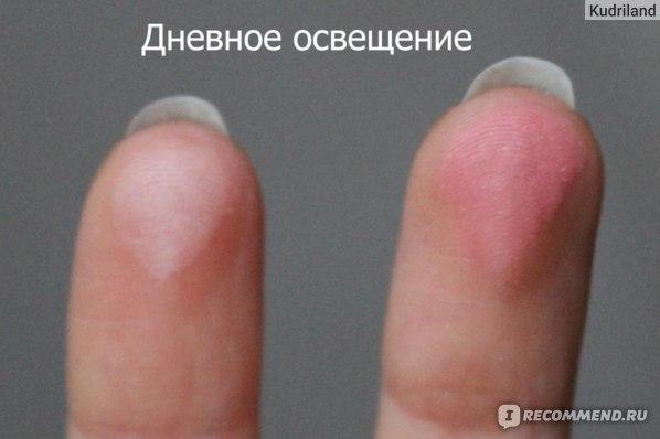 Румяна FFLEUR Компактные с кистью фото
