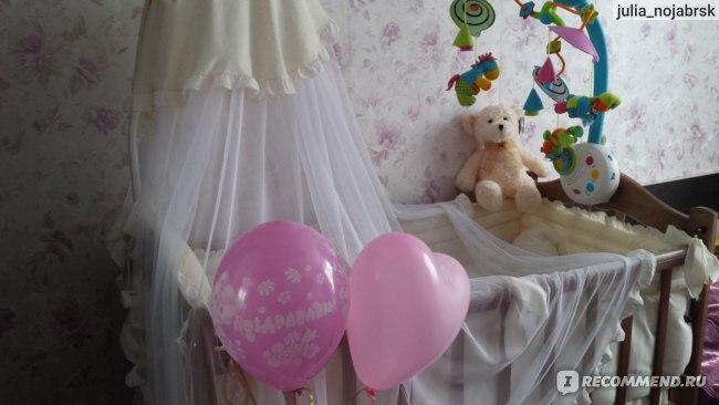 Комплект в кроватку Золотой гусь Сабина фото