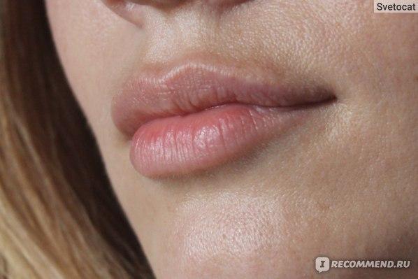 Губы без макияжа