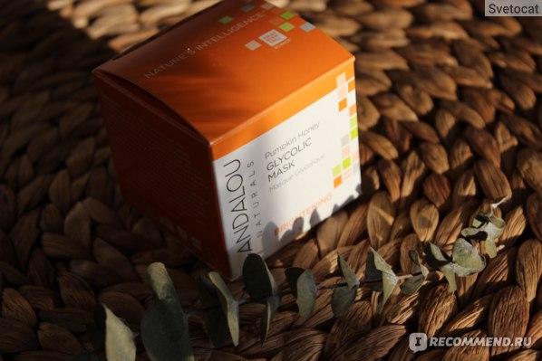 Brightening Glycolic Beauty Mask Pumpkin Honey Andalou Naturals