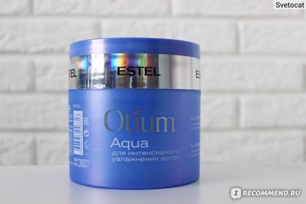 Маска Estel OTIUM AQUA для интенсивного увлажнения комфорт - отзыв
