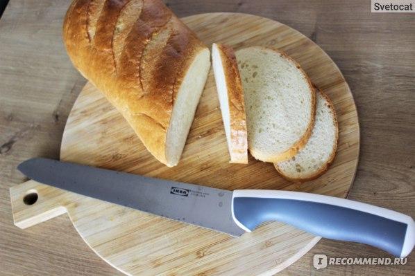 IKEA ЭНДЛИГ Нож для хлеба