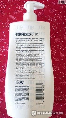 Гель для тела Sesderma Germises CHX фото
