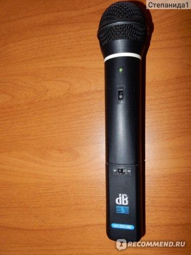 Вокальная Радиосистема DB Technologies Diversity WM 220 R1 / двухантенная/   фото