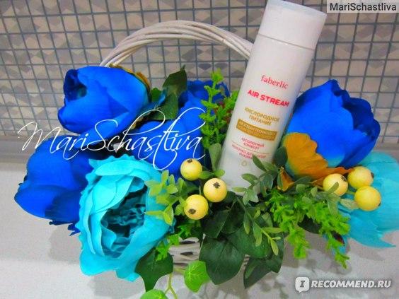Молочко для снятия макияжа Faberlic Air Stream Кислородное питание фото