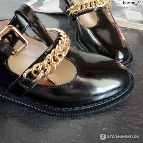 Туфли лодочки Aliexpress QUTAA / New in 2021; Women's square heel pumps; Season is spring; Round Toe Women's Casual Shoes; Mary Jane Pumps in Cowhide Patent Leather Buckle and Metallic Size34-40 фото