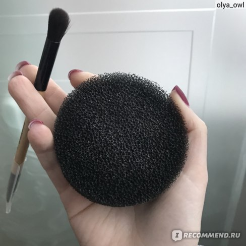 Спонж Sephora для очистки кистей для макияжа фото