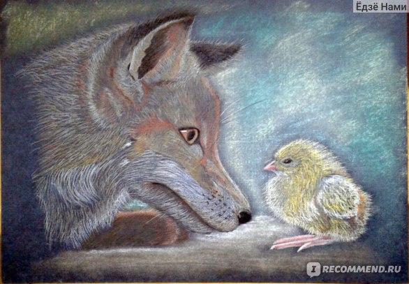 Фон и цыпленок - Olki