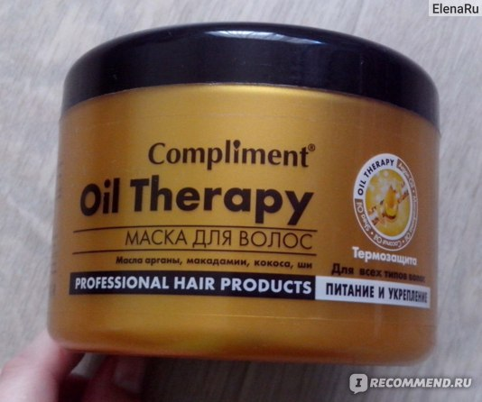 Маска для волос Compliment Oil Therapy фото