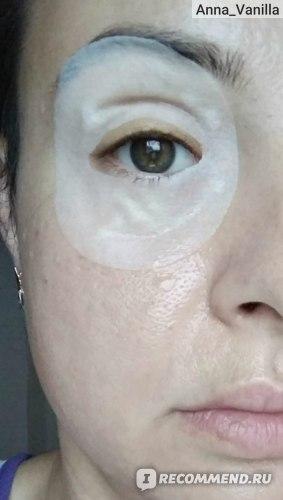 Маска для кожи вокруг глаз Xiangni 80Pcs Gold Plated Osmanthus Eye Mask Eyelid Patch Anti Wrinkle Dark Circles фото
