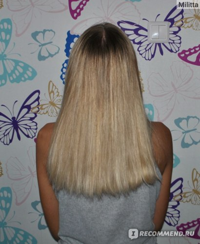 Окрашивание волос в технике Airtouch фото