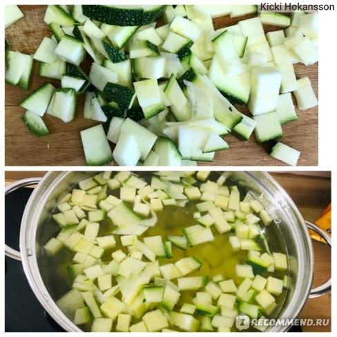 Овощной суп с цукини