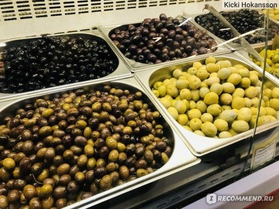 Сирийские оливки